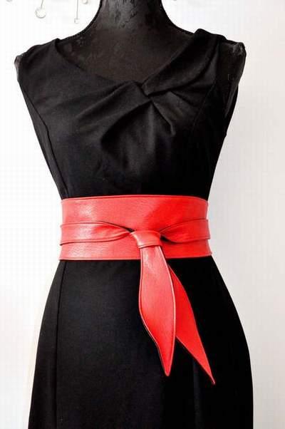 6355b92bb589 ceinture en tissu a nouer,ceinture a nouer la redoute,ceinture a nouer  marron