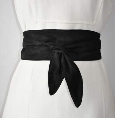ceinture large cuir femme a nouer,ceinture a nouer camaieu,ceinture a nouer  grise 090ee9b537c